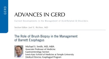 The Role of Brush Biopsy in the Management of Barrett Esophagus