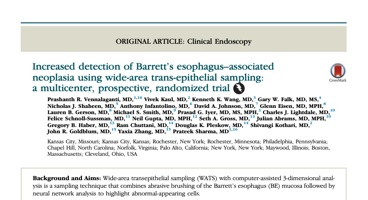 Increased Detection of Barrett's Esophagus-associated Neoplasia Using Wide-Area Trans-epithelial Sampling: A Multicenter, Prospective, Randomized Trial