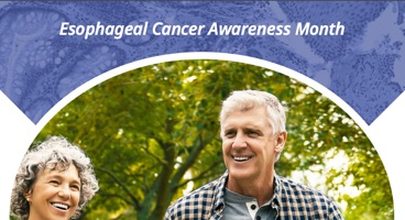 Esophageal Cancer Awareness Month Counter Poster