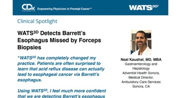 WATS<sup>3D</sup> Detects Barrett's Esophagus Missed by Forceps Biopsies